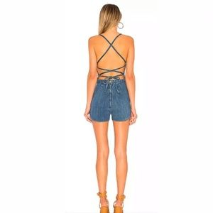 4e0939cee03b Stoned Immaculate Other - Stoned Immaculate Jean Genie Denim Romper Filmore